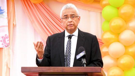À St-Pierre : le PM se félicite des mesures prises pour contenir la propagation de la Covid-19