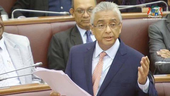 Summing-up des débats budgétaires : Pravind Jugnauth cible l'ancien régime et Rama Sithanen