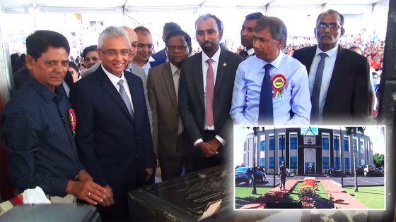 Le Premier ministre annonce la construction d'un complexe administratif à Triolet pour un coût total de Rs 72 M
