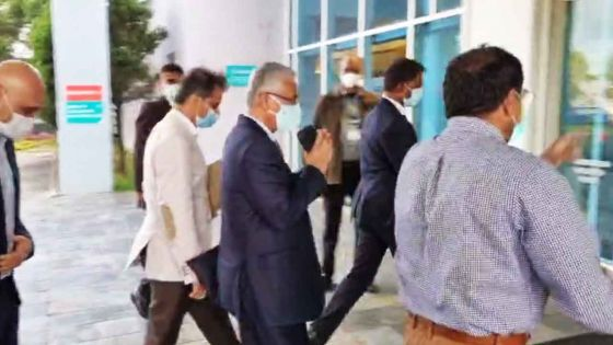 État de santé de Navin Ramgoolam : Pravind Jugnauth est arrivé à l'hôpital Wellkin