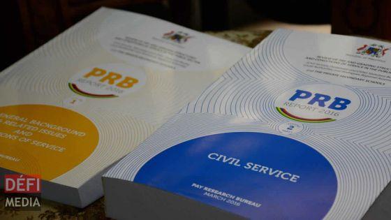 Fonction publique : rapport PRB en 2019 ?