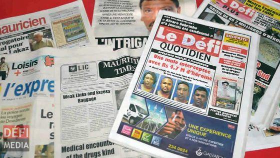 La Journée mondiale de la liberté de la presse observée ce lundi 3 mai, le point sur la situation à Maurice