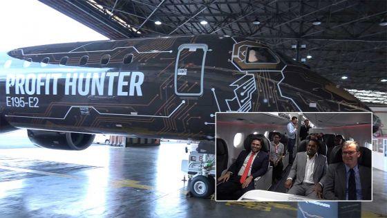 Air Mauritius s'intéresse à l'avion Embraer 195-E2