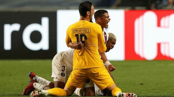 C1: le PSG renverse l'Atalanta in extremis