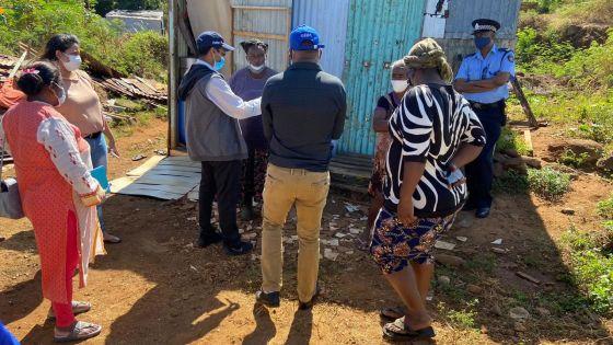 Squatters de Pointe-aux-Sables : les autorités mènent un exercice de recensement