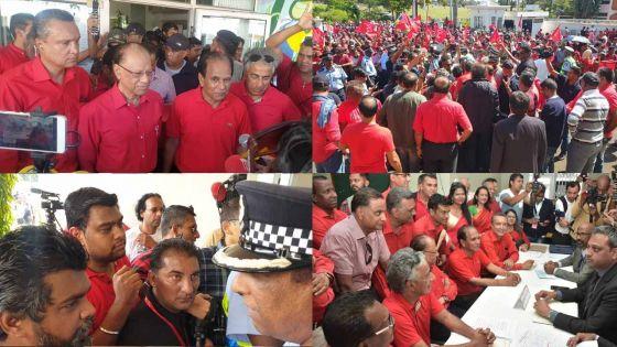 [En images] Nomination Day au no 7 : les rouges se donnent rendez-vous en terre pas si inconnue