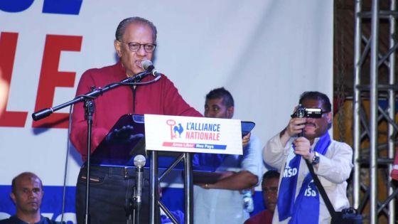 No. 12 –Ramgoolam : « Chaque vote pour le MMM est un vote pour le MSM »