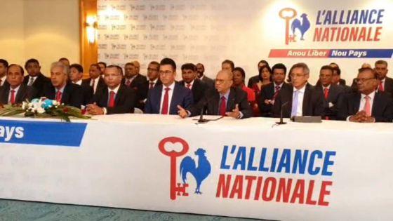 Suivez en direct la présentation des 60 candidats de l'Alliance Nationale