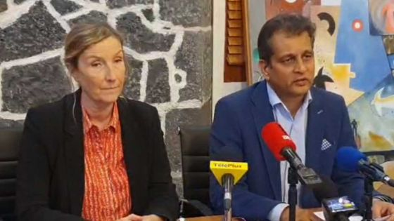 Covid-19/Réouverture des frontières : suivez en direct la conférence de presse du Dr Joomaye et du Dr Gaud
