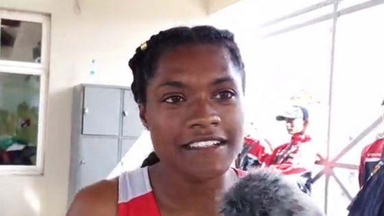 JIOI - Athlétisme : «Je suis assez déçue... mais satisfaite», confie Rachel Michel, médaillée de bronze pour Maurice