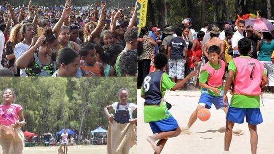Radio Plus : 'Beach Tour Family Fun Day': pourdes journées conviviales et familiales