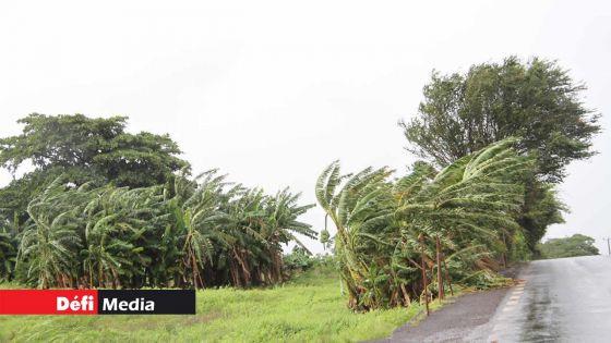 Météo : Maurice sous l'influence d'un anticyclone, des rafales de 60 km/h attendues