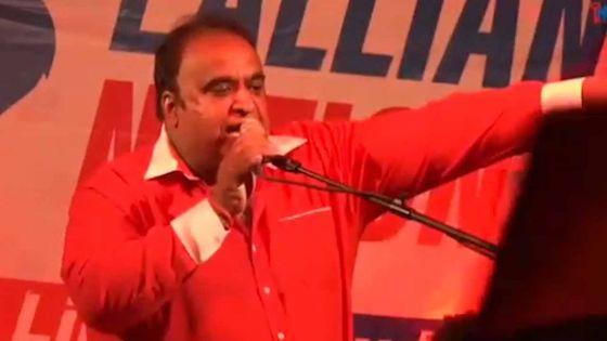 Rajen Narsinghen, activiste politique ou pas ? À vous de juger !