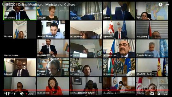 UNESCO : le ministre Teeluck annonce un plan Post-Covid-19 pour les arts et la culture