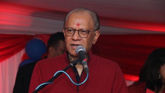 «Bérenger n'a aucune chance de devenir PM», dit Navin Ramgoolam