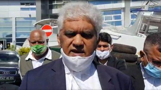 Valayden : «En tant que patriote, je demande au groupe Bhunjun d'accepter le remboursement des Rs 5,6 milliards sur 6 ans»