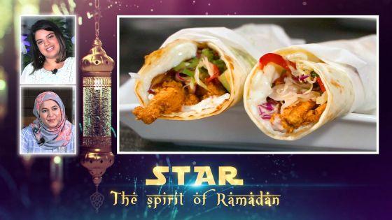 Star The Spirit of Ramadan : la préparation d'un iftar sain avec un plat atypique