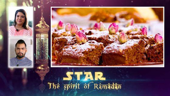 Star – The Spirit of Ramadan : Gâteau nourrissant aux dattes et aux noix