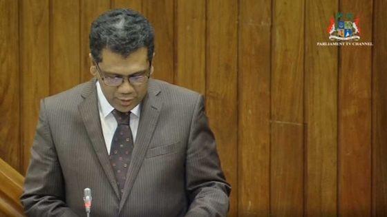 Débats budgétaires : Kavi Ramano demande au gouvernement d'aider les jeunes