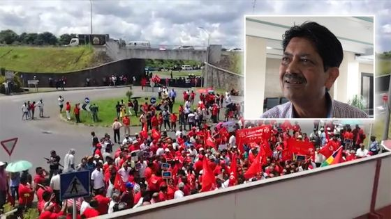 Manifestation tendue du PTr devant la MBC, les «anciennes méthodes» de Ramgoolam aussi critiquées par le chairman de la MBC
