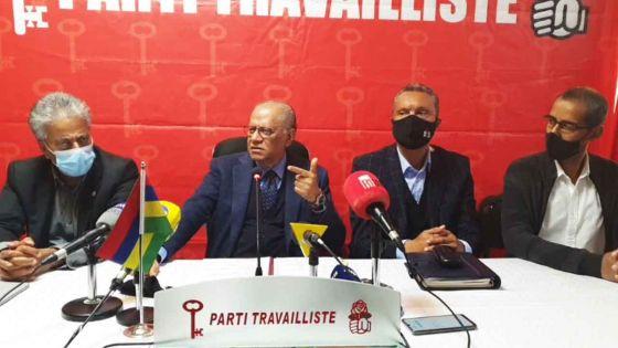 PTr : Navin Ramgoolam face à la presse