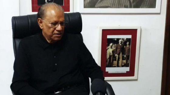 Navin Ramgoolam condamne «la vidéo Navingate comme hautement diffamatoire»