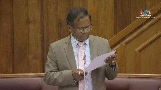 Débats budgétaires - Sharvanand Ramkaun : «L'opposition est assommée»