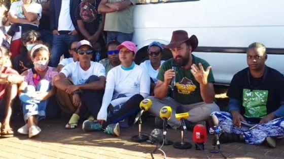 Wakashio : suivez en direct la conférence de presse de Rezistans ek Alternativ