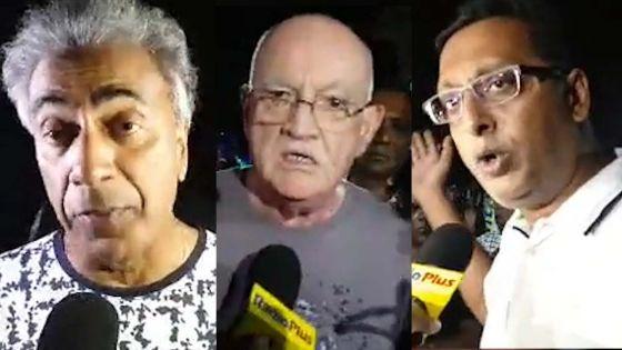 Accident mortel entre un tram et une moto : voici les réactions de Boolell, Bhagwan et Bhadain