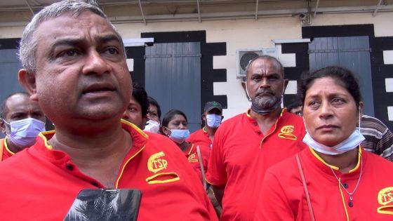 Loi du travail : Des membres de la CTSP mobilisés devant la Cour suprême