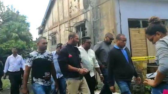 Arrêté pour le meurtre de sa concubine : Rodney Rambhojun retourne sur les lieux du crime