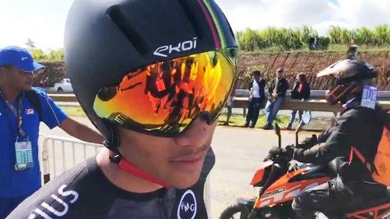 JIOI – Cyclisme : « Je suis satisfait d'avoir atteint mon premier objectif », confie Dylan Redy