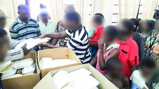 Forte tempête Calvinia : strict contrôle dans les centres de refuge