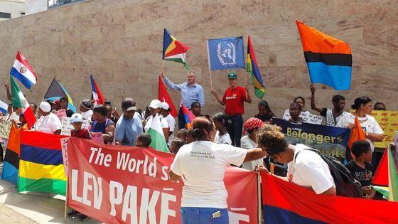 Chagos : manifestation devant le Haut-commissariat britannique à Maurice ce vendredi matin
