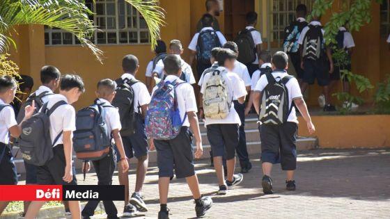 Rentrée scolaire ce mercredi : L'école réinventée