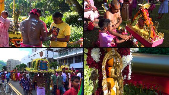 Thaipoosam Cavadee - les dévots honorent le dieu Muruga
