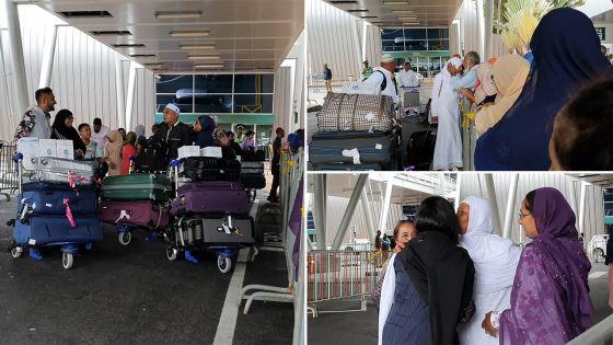 Hadj : le premier contingent de pèlerins mauriciens de retour de La Mecque
