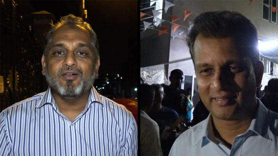 Reza Uteem/Zouberr Joomaye : amis d'hier, adversaires d'aujourd'hui