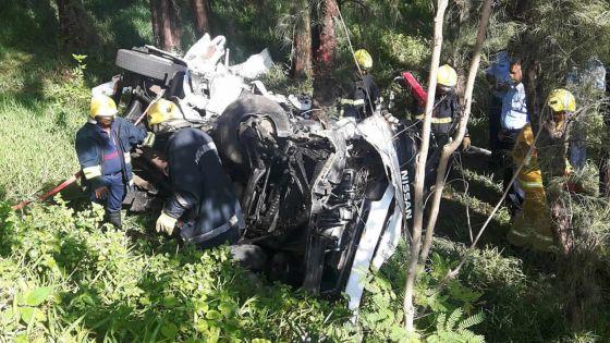 Nouvel An tragique : 4 morts et un blessé dans deux accidents