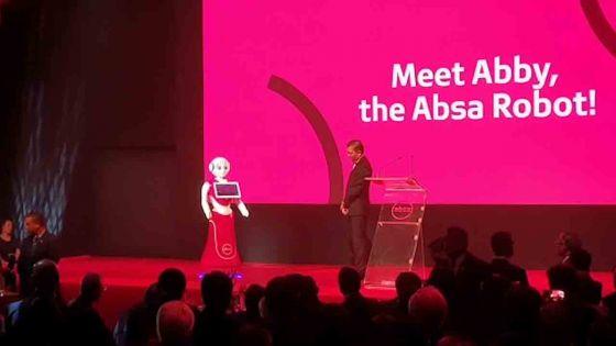 Absa Bank (Mauritius) présente son robot Abby
