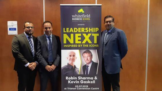 Conférence sur le leadership : Robin Sharma et Kevin Gaskell à Maurice en juillet