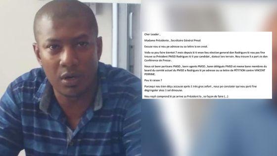 Branche rodriguaise du PMSD secouée : un «clash de personnalités» entre dirigeants, selon Mahmad Kodabaccus