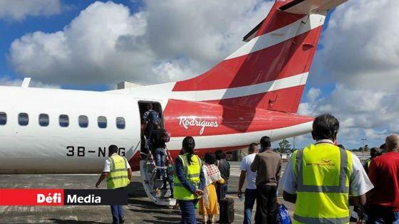 Durant ce mois d'octobre : trois vols de rapatriement seront effectués vers Rodrigues