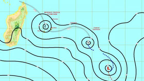 Tempête tropicale modérée Diane : Rodrigues reste en alerte 1