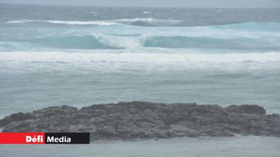 Rodrigues : un avis de fortes houles en vigueur à partir de 13h ce lundi
