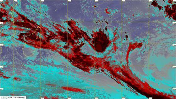 Météo : un avis de fortes pluies émis à Rodrigues