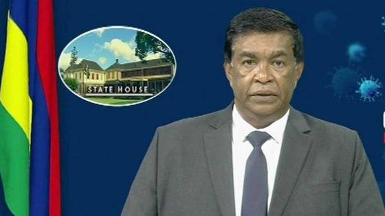 Le Président de la République s'adresse à la nation