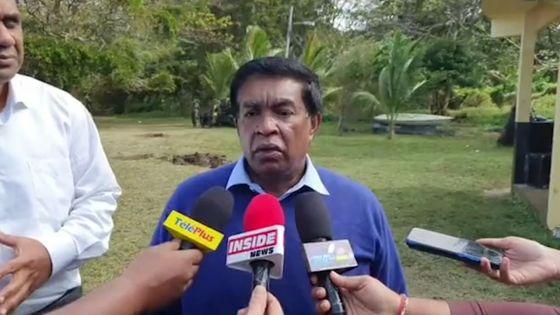 Wakashio : «Ena bann zafer ki imprevu… ki pa ti lor kontrol personn», dit le Président de la République