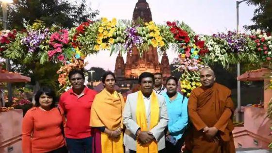 Inde : le président Roopun «stopped» à l'aéroport de Varanasi pour excédent de bagages, selon Hindustan Times
