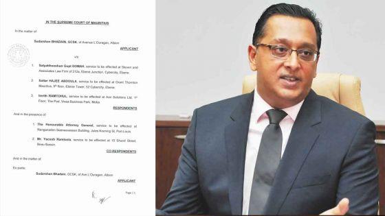 Rapport de la Commission d'enquête sur Britam : Roshi Bhadain fait une demande de révision judiciaire